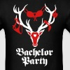 Stag night Bachelor Support Team party T-Shirt - Men's T-Shirt