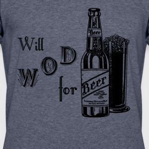 Will WOD For Beer Crossfit - Men's 50/50 T-Shirt