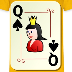 Ornamental deck: Queen of spades - Kids' Premium T-Shirt
