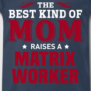 Matrix Worker MOM - Men's Premium T-Shirt