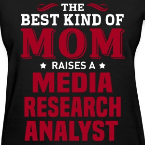 Media Research Analyst MOM - Women's T-Shirt