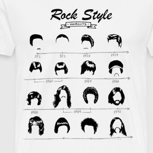 Rock Style T-Shirts - Men's Premium T-Shirt