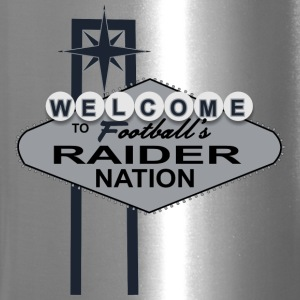 Welcome Raider Nation Mugs & Drinkware - Travel Mug