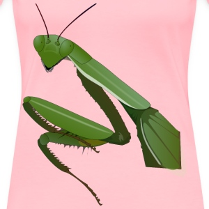 Praying Mantis - Women's Premium T-Shirt