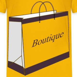 Boutique Shopping Bag - Kids' Premium T-Shirt