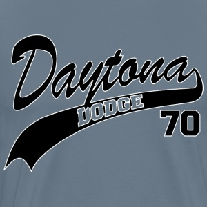 70 Daytona - White Outline - Men's Premium T-Shirt