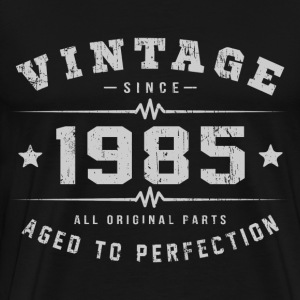 1985 Aged To Perfection T-Shirts - Men's Premium T-Shirt