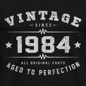 1984 Aged To Perfection T-Shirts - Men's Premium T-Shirt