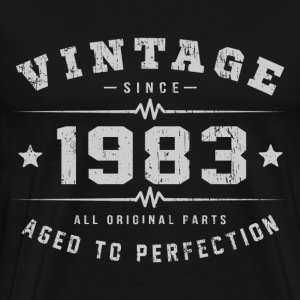 1983 Aged To Perfection T-Shirts - Men's Premium T-Shirt