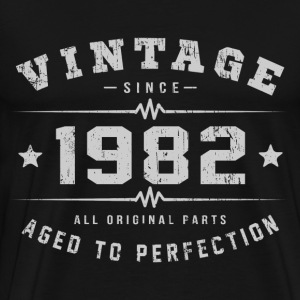1982 Aged To Perfection T-Shirts - Men's Premium T-Shirt