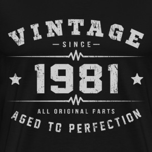 1981 Aged To Perfection T-Shirts - Men's Premium T-Shirt