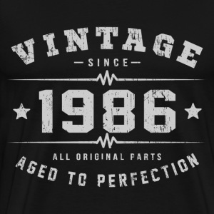 1986 Aged To Perfection T-Shirts - Men's Premium T-Shirt
