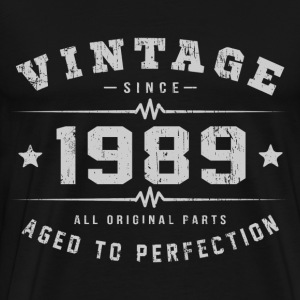 1989 Aged To Perfection T-Shirts - Men's Premium T-Shirt