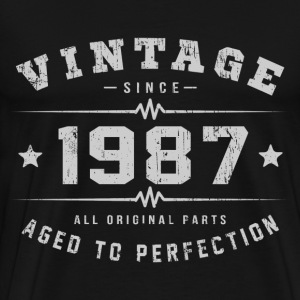 1987 Aged To Perfection T-Shirts - Men's Premium T-Shirt