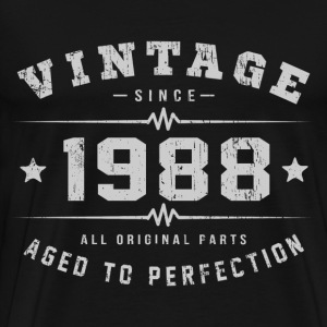 1988 Aged To Perfection T-Shirts - Men's Premium T-Shirt