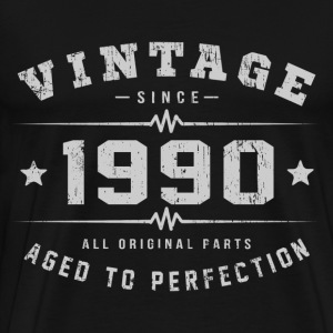 1990 Aged To Perfection T-Shirts - Men's Premium T-Shirt