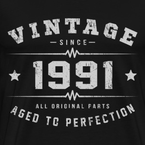1991 Aged To Perfection T-Shirts - Men's Premium T-Shirt