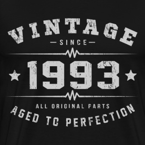 vintage 1993 aged of perfection.png T-Shirts - Men's Premium T-Shirt