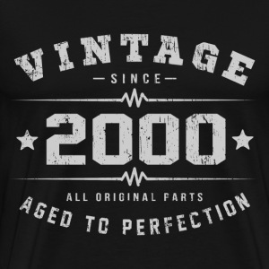 2000 Aged To Perfection T-Shirts - Men's Premium T-Shirt