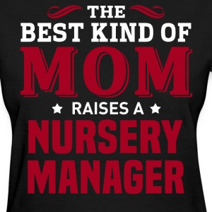 Nursery Manager MOM - Women's T-Shirt