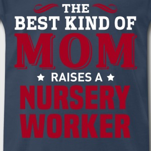 Nursery Worker MOM - Men's Premium T-Shirt
