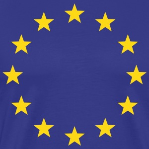 EU Stars Europe, European Union Flag, Symbol, Sign - Men's Premium T-Shirt