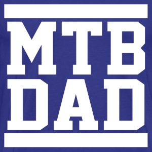 Mountain Bike Dad T-Shirts - Men's Premium T-Shirt