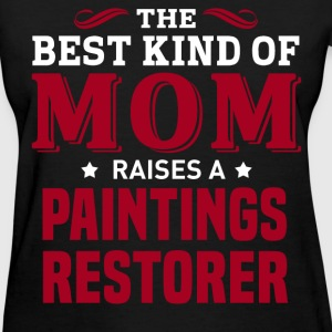 Paintings Restorer MOM - Women's T-Shirt