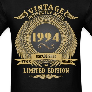 Vintage Perfectly Aged 1994 Limited Edition T-Shirts - Men's T-Shirt