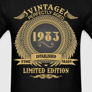 Vintage Perfectly Aged 1983 Limited Edition T-Shirts - Men's T-Shirt
