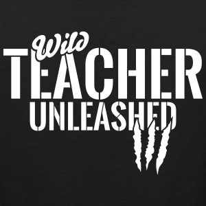 Wild teacher unleashed Sportswear - Men's Premium Tank