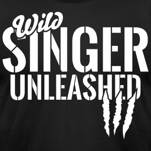 Wild singer unleashed T-Shirts - Men's T-Shirt by American Apparel