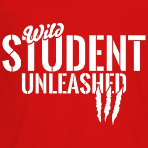 Wild student unleashed Kids' Shirts - Kids' Premium Long Sleeve T-Shirt