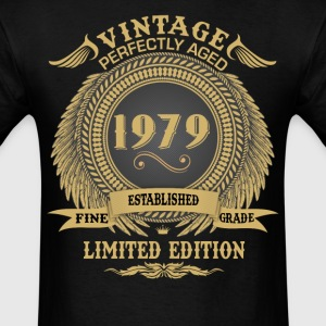 Vintage Perfectly Aged 1979 Limited Edition T-Shirts - Men's T-Shirt