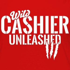wild cashier unleashed Long Sleeve Shirts - Women's Premium Long Sleeve T-Shirt