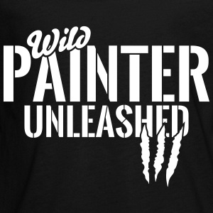 wild painter unleashed Kids' Shirts - Kids' Premium Long Sleeve T-Shirt