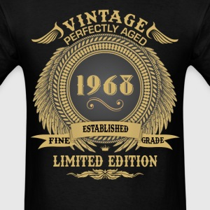 Vintage Perfectly Aged 1968 Limited Edition T-Shirts - Men's T-Shirt