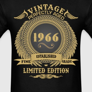 Vintage Perfectly Aged 1966 Limited Edition T-Shirts - Men's T-Shirt