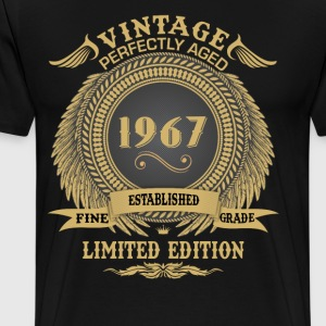 Vintage Perfectly Aged 1967 Limited Edition T-Shirts - Men's Premium T-Shirt