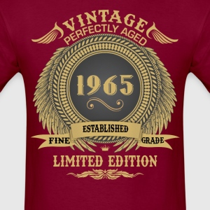Vintage Perfectly Aged 1965 Limited Edition T-Shirts - Men's T-Shirt