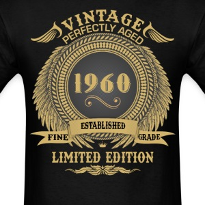 Vintage Perfectly Aged 1960 Limited Edition T-Shirts - Men's T-Shirt