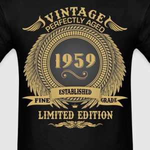 Vintage Perfectly Aged 1959 Limited Edition T-Shirts - Men's T-Shirt