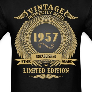 Vintage Perfectly Aged 1957 Limited Edition T-Shirts - Men's T-Shirt