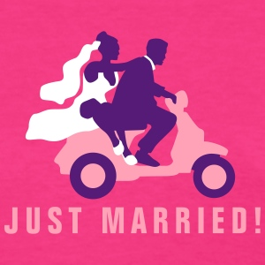 just_married_scooter_09_2016_a3c01 T-Shirts - Women's T-Shirt