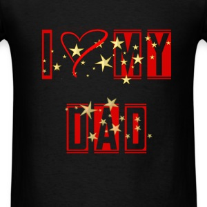 Dad - I love my dad - Men's T-Shirt