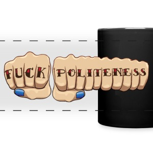 My Favorite Murder Fuck Politeness MFM - Full Color Panoramic Mug