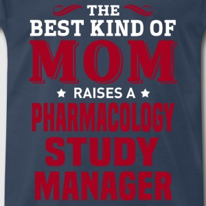 Pharmacology Study Manager MOM - Men's Premium T-Shirt