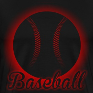 glowing baseball  - Men's Premium T-Shirt