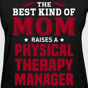 Physical Therapy Manager MOM - Women's T-Shirt