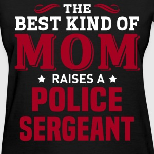 Police Sergeant MOM - Women's T-Shirt